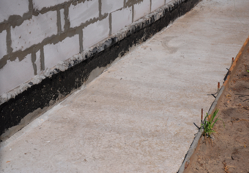 Foundation Waterproofing Elastomeric Foundation Waterproofing